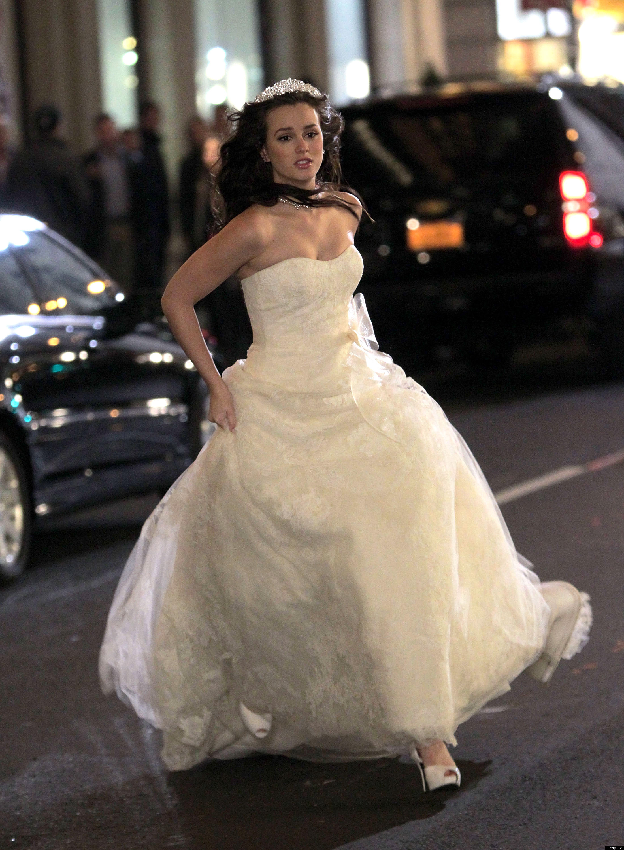 Blair Waldorf Gossip Girl Wedding Dress