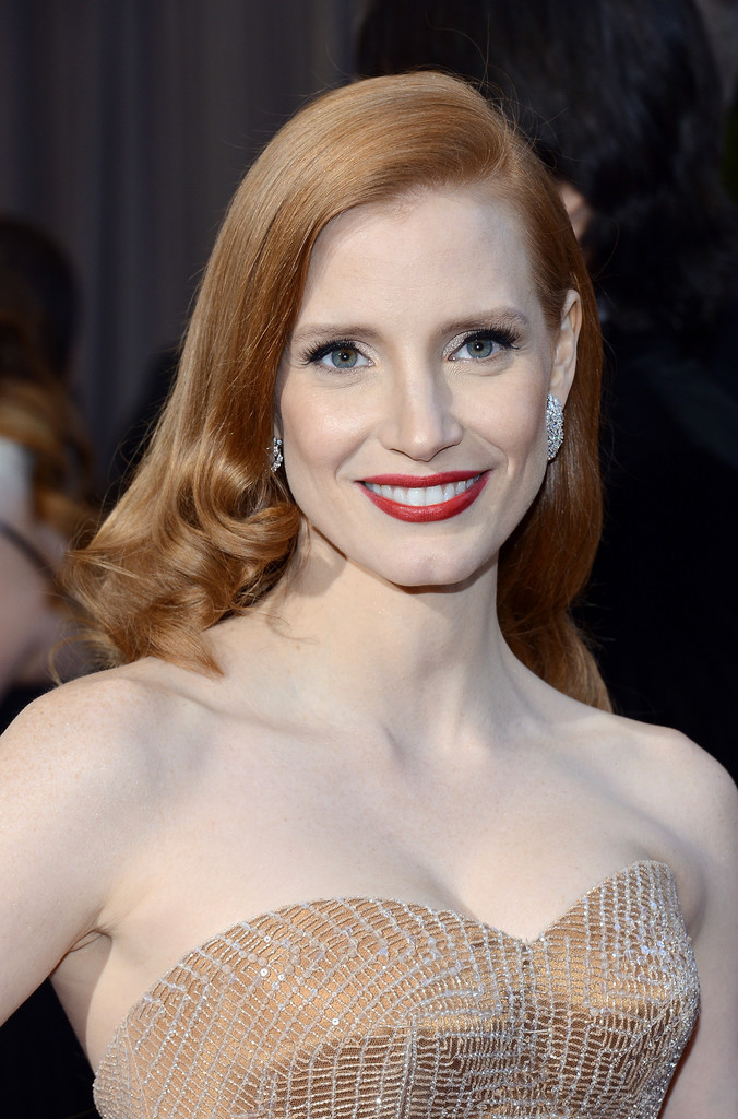 JESSICA CHASTAIN @ THE 2013 ACADEMY AWARDS!!! | Fiercely Glamazonian Jessica Chastain