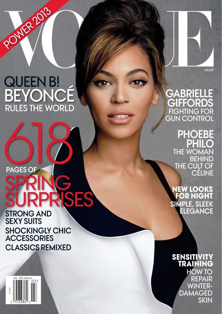 BEYONCE'S VOGUE COVER