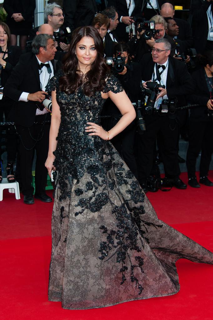Aishwarya Rai Inside Llewyn Davis Premiere Cannes