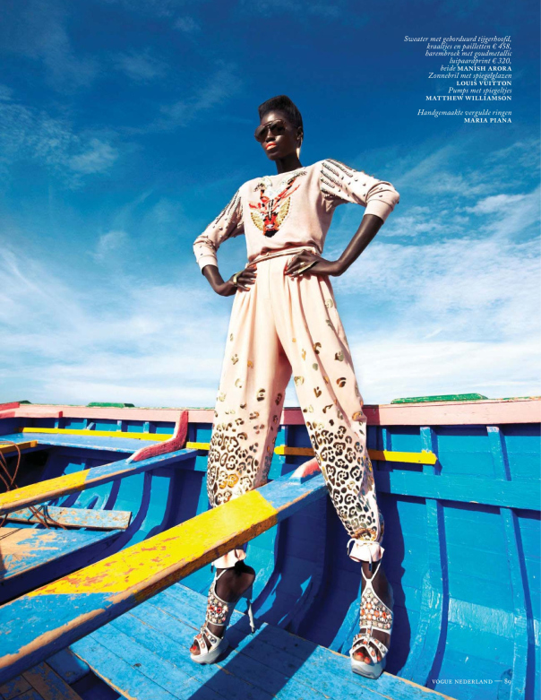 KINEE-DIOUF-VOGUE-NETHERLANDS-JULY-2013-COVER 9