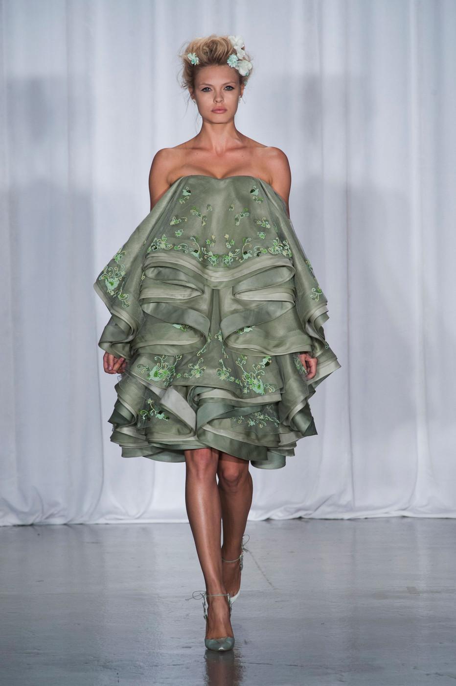 2014 Spring Summer Teen Fashion Trends: NEW YORK FASHION WEEK: ZAC POSEN 2014 SPRING COLLECTION