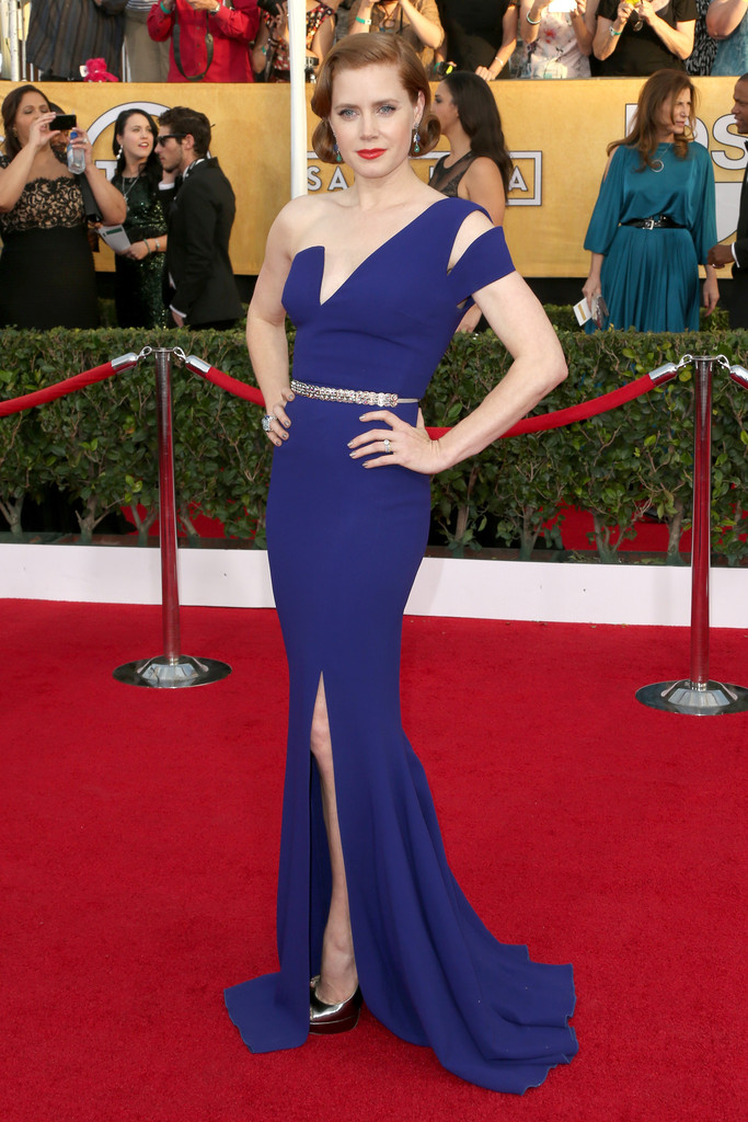 AMY ADAMS wearing Antonio Berardi gown